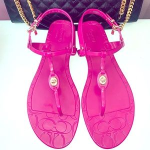 Coach Pier Jelly Sandals